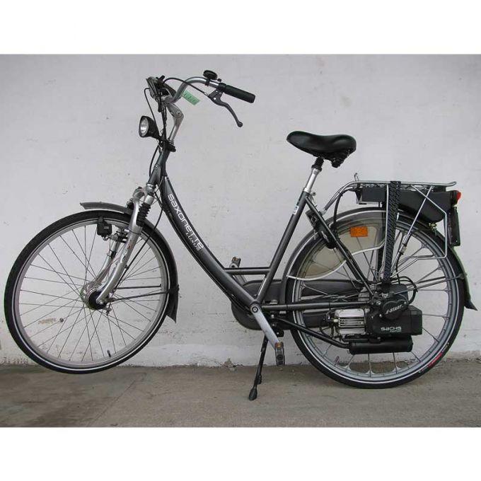 Aktualne Holenderskie rowery z silnikiem spalinowym Sachs 301A GT39
