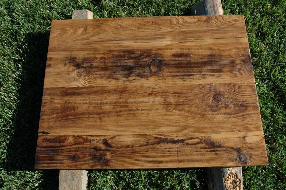 Super Zrobię blaty drewniane ze starego drewna - Meble Retro - Palone JY87